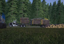 Photo of NMC CENTERMOUNT LT 46 : MudRunner dans Farming Simulator 19