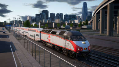 Photo de Nouvel add-on pour Train Sim World 2020 : la loco Caltrain MP36PH-3C