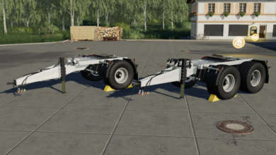 Photo de Pack de dolly Fliegl Agrar pour FS 19