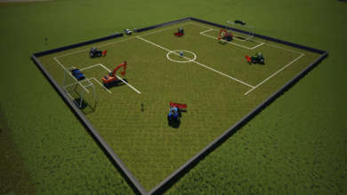 Photo of Insolite : on joue au foot sur Farming Simulator 19