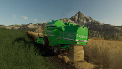 Photo de La Deutz-Fahr Starliner, star des années 90, brille sur Farming Simulator 19
