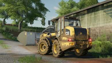 Photo of Le télésco JCB TM 320S passe de Farming Simulator 17 au 19
