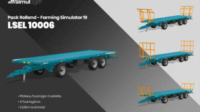 Photo de Pack Rolland Farming Simulator 19 : LSEL 10006
