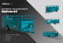 Photo de Pack Rolland Farming Simulator 19 : Rollvan 64