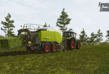 Photo de Un nouvel ensemble Claas pour Farming Simulator 20