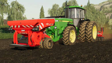 Photo de Les John Deere 4755-4955 de AAA modding concurrencent ceux de BlackSheep