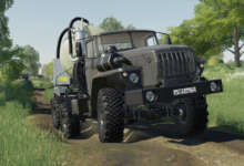 Photo de URAL 44202 : un air de MudRunner dans Farming Simulator 19
