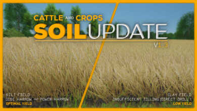 cattle and crops soil update