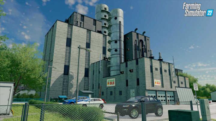FS22 Production OilFactory en