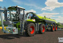claas xerion fs22