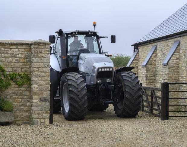 Clarkson13 tractor