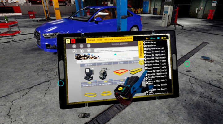 car mechanic vr 03