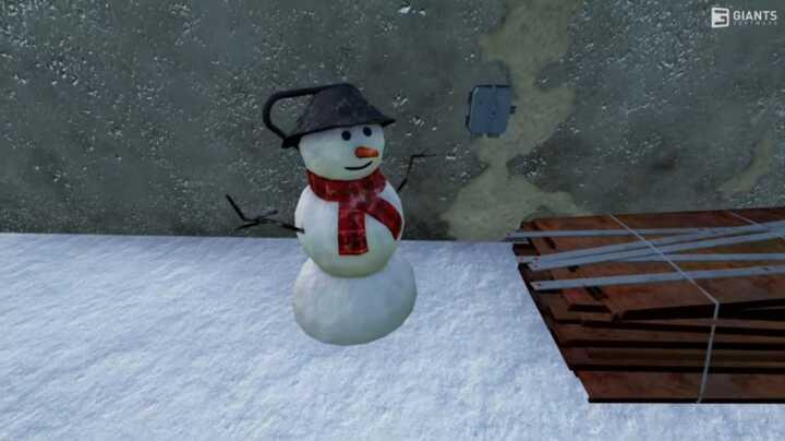 saisons snowman fs22