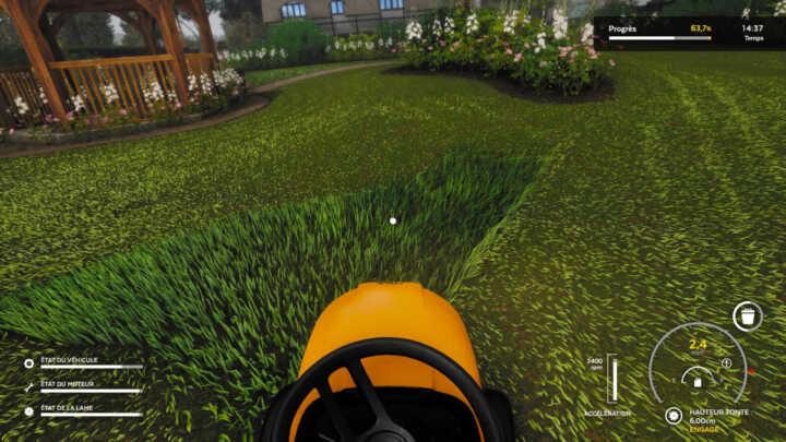 Lawn Mowing simulator 01