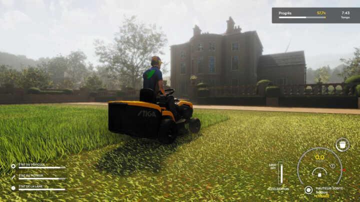 Lawn Mowing simulator 11