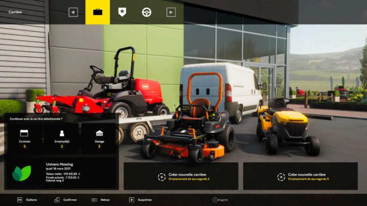 Lawn Mowing simulator 24