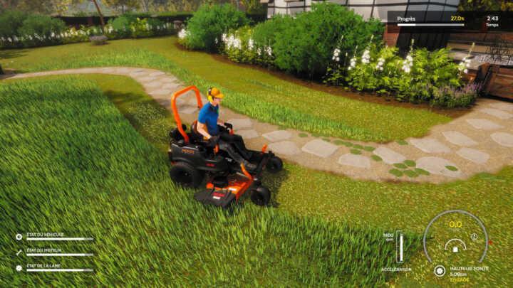 Lawn Mowing simulator 32