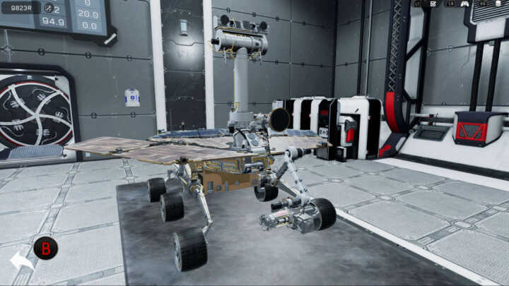 Rover Mechanic Simulator 05