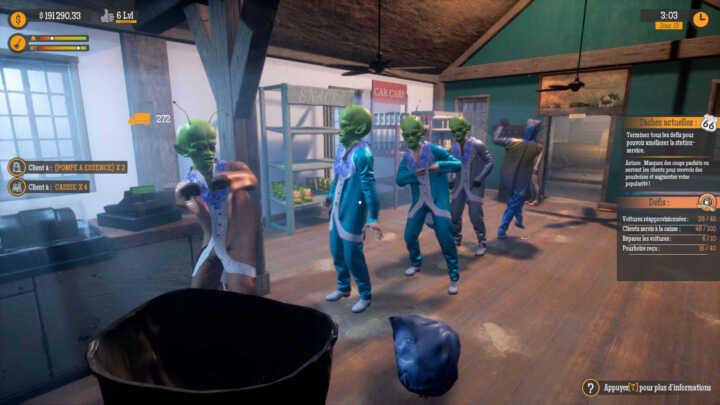 gas station simulator aliens