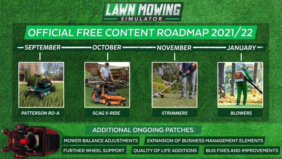 lawn mowing roadmap