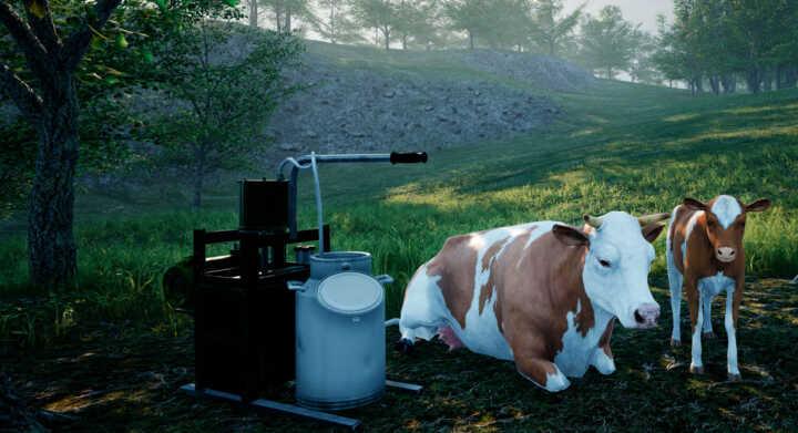 ranch simulator update cows