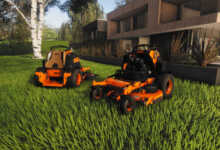 lawn mowing scag