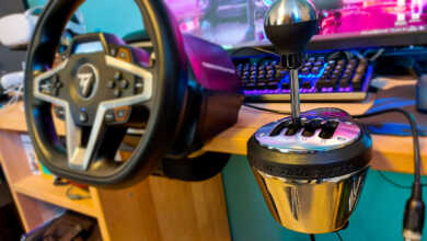 thrustmaster th8a shifter fs22